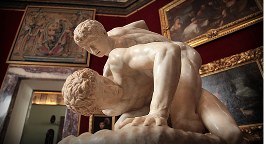 The Uffizi Wrestlers