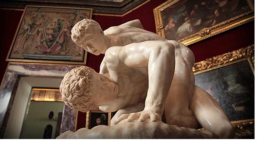 The Uffizi Wrestlers
