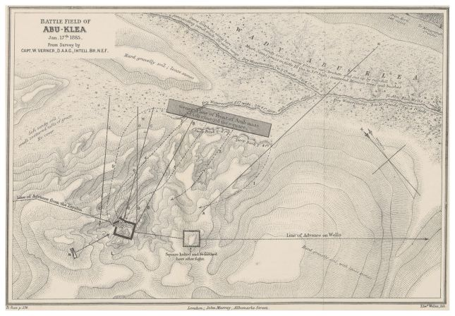 MACDONALD(1887)_p263_SKETCH_MAP_OF_BATTLE_FIELD_OF_ABU-KLEA