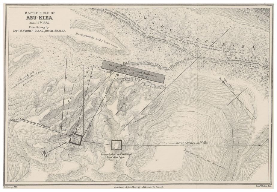 MACDONALD(1887)_p263_SKETCH_MAP_OF_BATTLE_FIELD_OF_ABU-KLEA