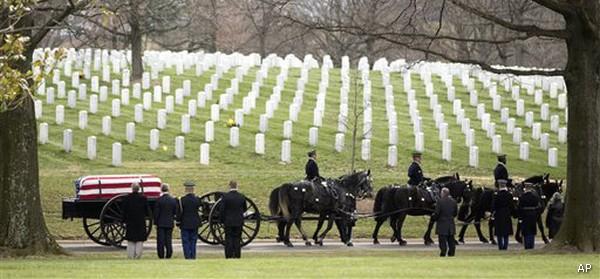 Arlington Funeral Afghanistan