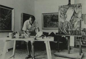 Rudolph-von-Ripper-in-his-studio--300x204